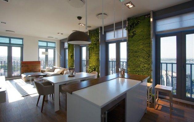 Green Paneled Homes