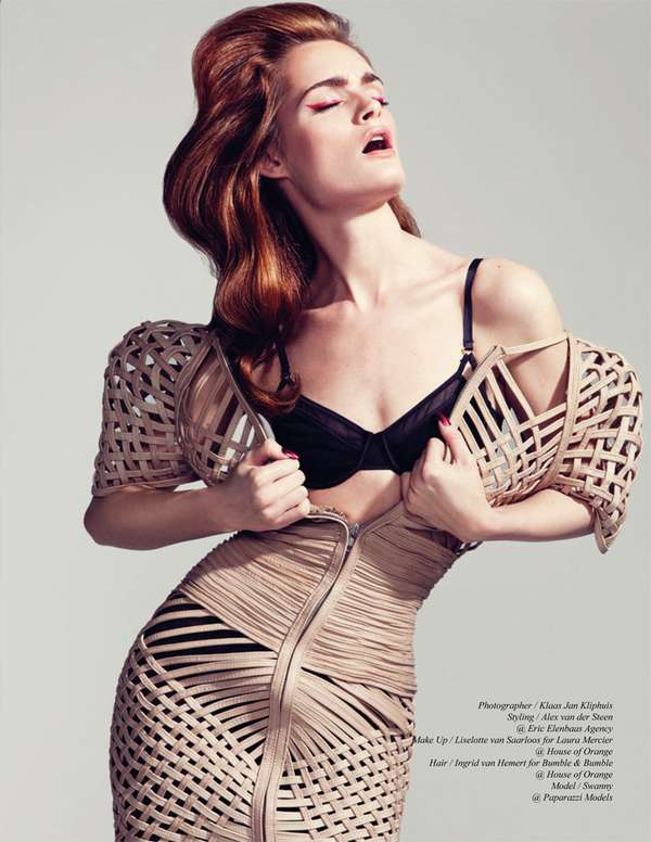 Caged-In Couture Captures