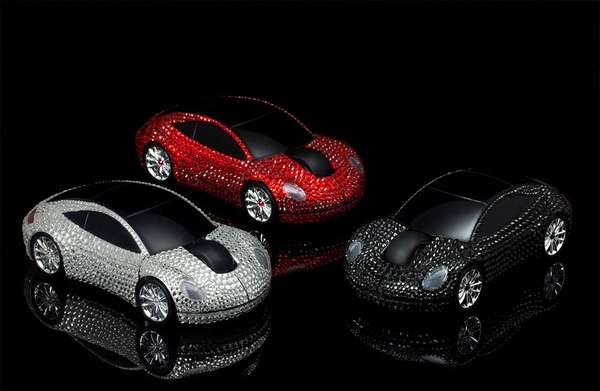 Swarovski Crystal Wireless Mouse