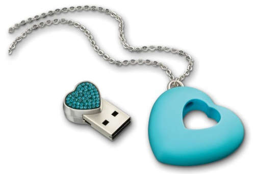 Elegant Hard Drive Necklaces