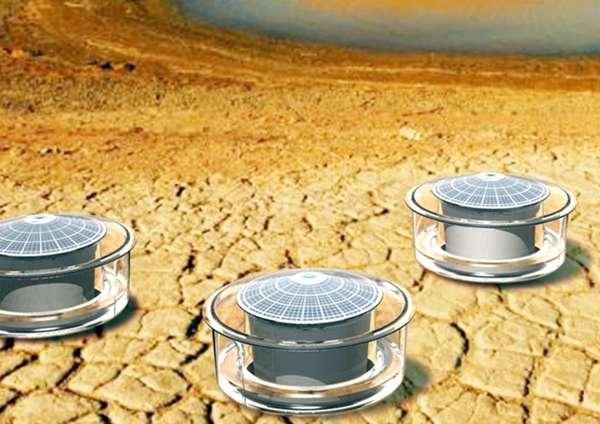 Solar Moisture Vaporators