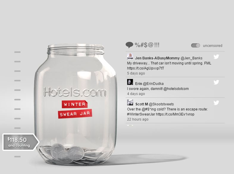 Swear Jar Travel Campaigns