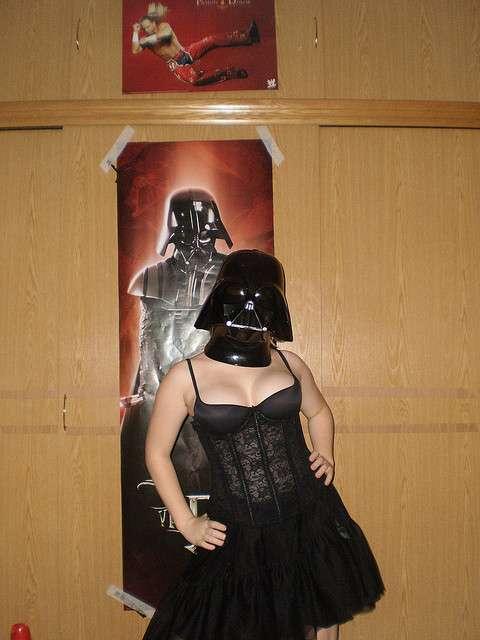 Daring Darth Vader Damsels