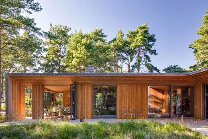 Contemporary Woodland Homes