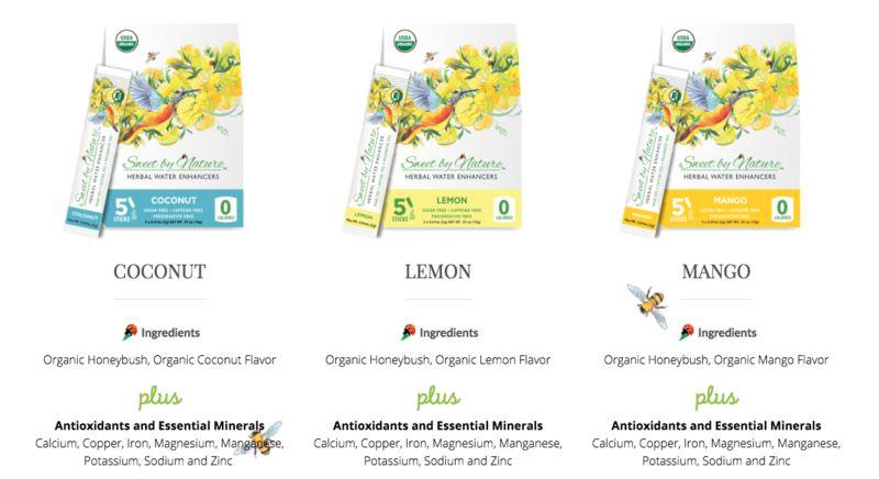 Herbal Beverage Sweeteners