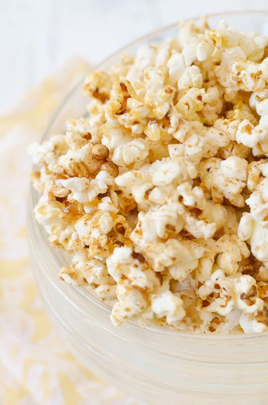 Festive Fall Popcorn