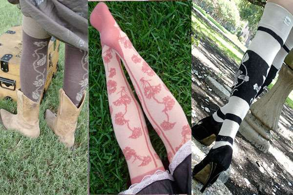 Super-Feminine Stockings