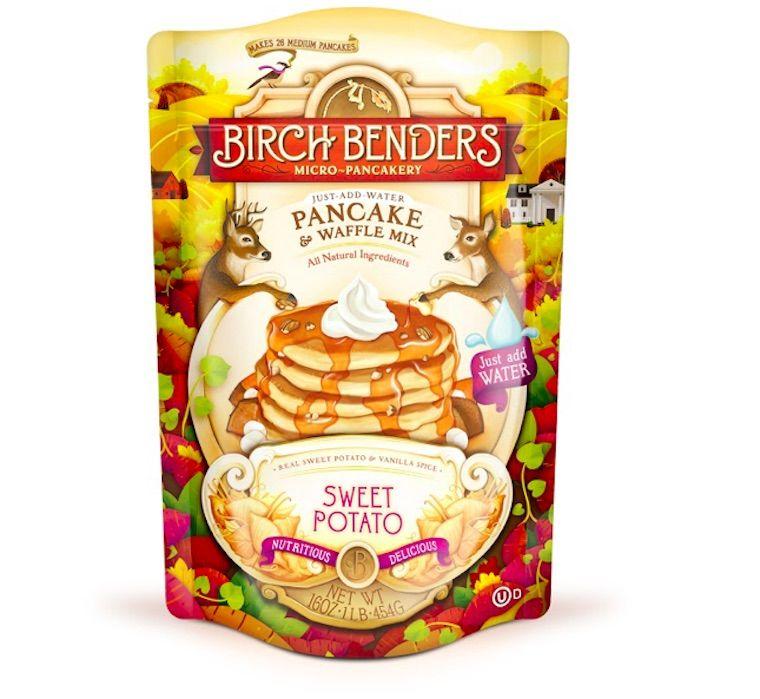 Sweet Potato Pancake Mixes