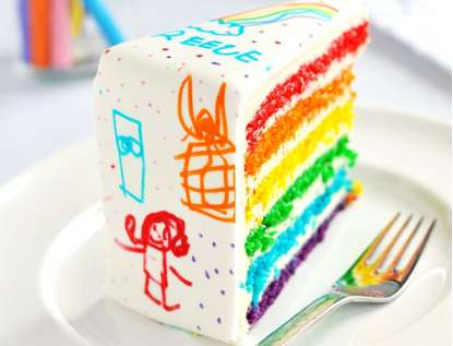 Crayon Box Cakes