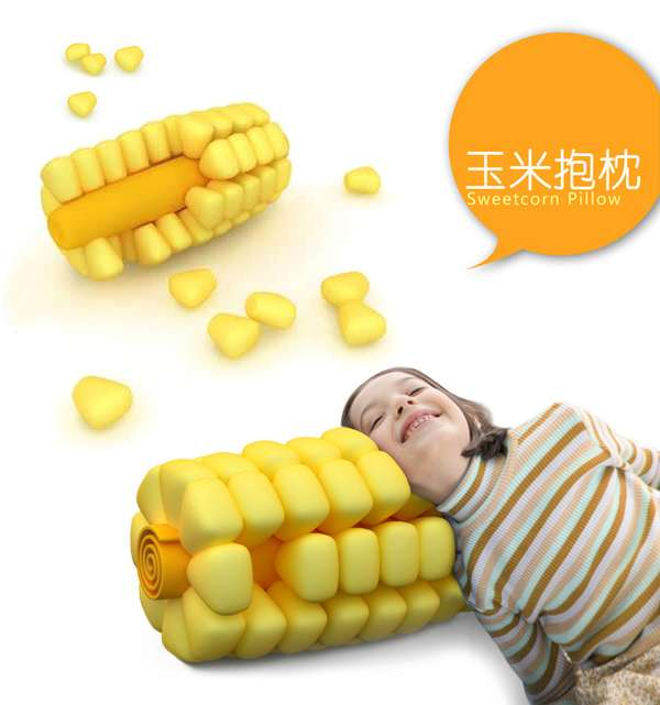 Sweetcorn Pillow