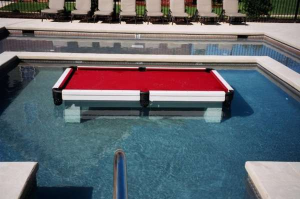 Swimming Pool Pool Table