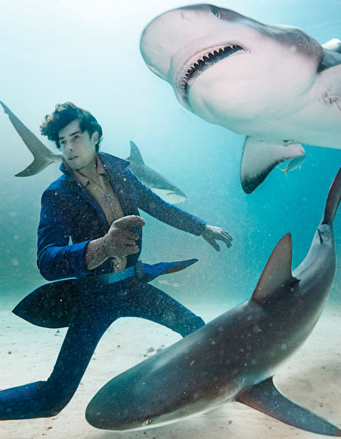 Shark Bait Menswear Editorials
