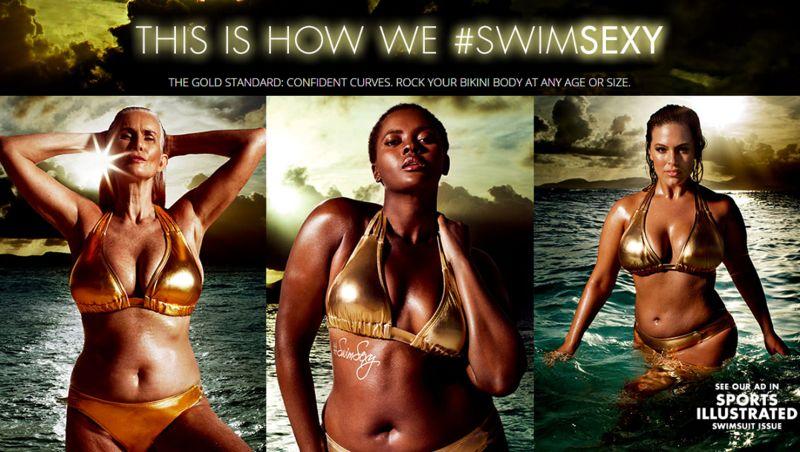 Diverse Swimsuit Campaigns