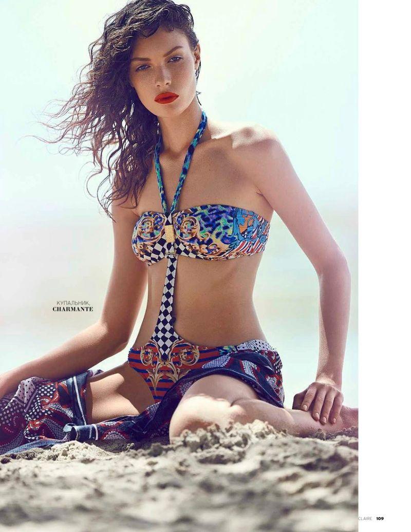 Eclectic Swimsuit Photoshoots