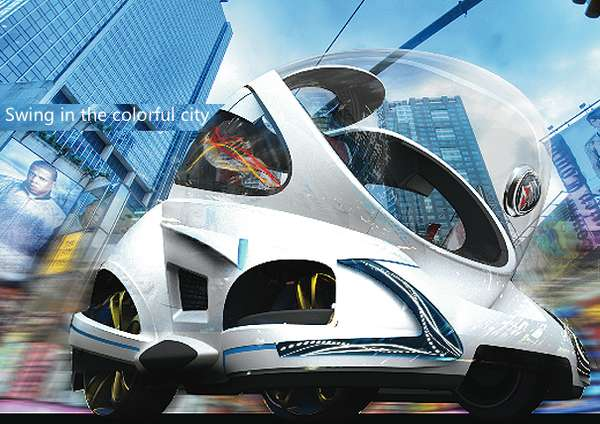 Body-Powered Concept Cars