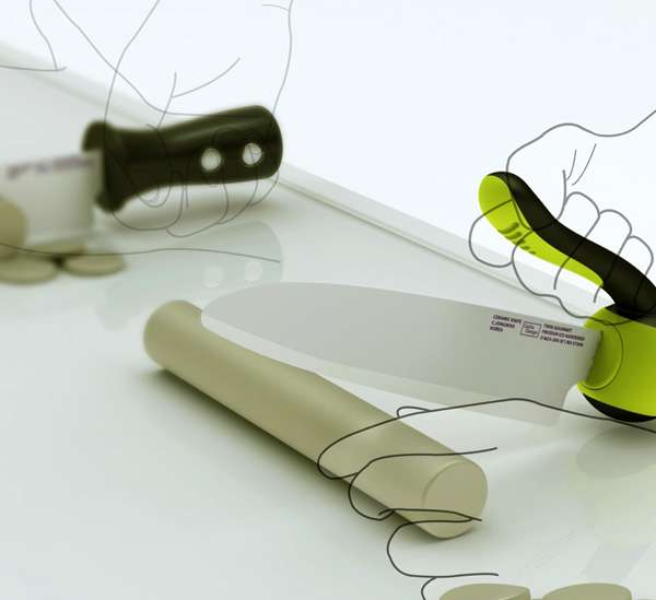 Reimagined Kitchen Knives