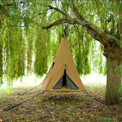 Swing, Tent, Teepee Wrapped in One