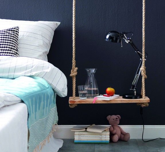 Swinging Side Tables