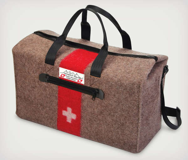 Swiss Army Blanket Duffel