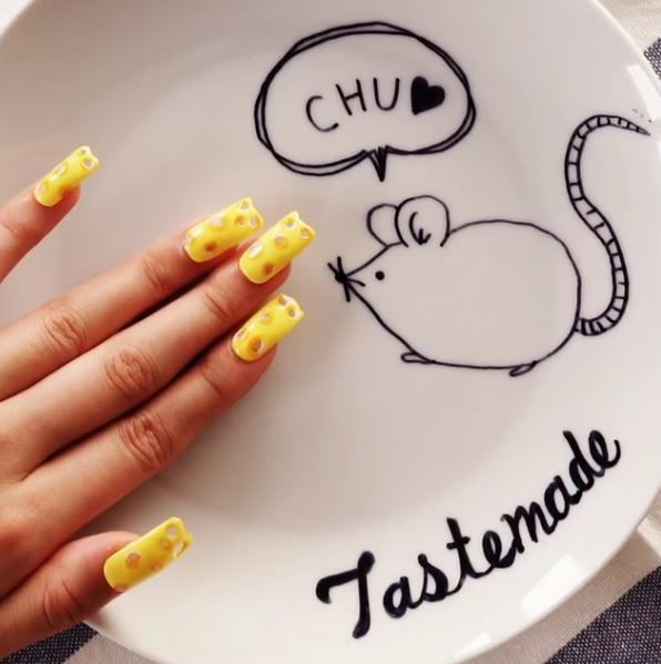 Cheesy Nail Designs