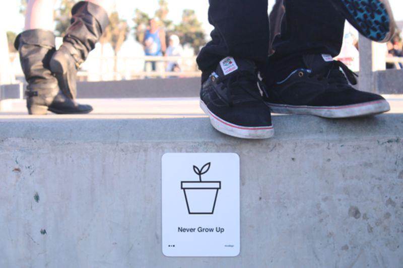 Community-Inspiring Signage