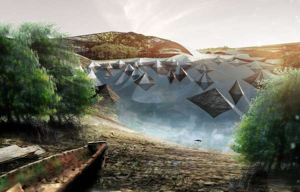 Elevated Ecological Airports