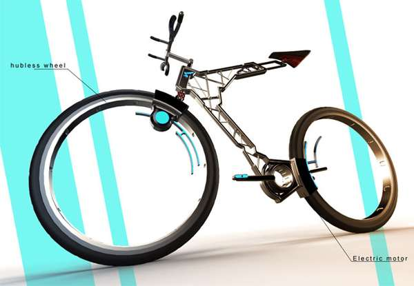 Swiss Cheese Concept Bikes
