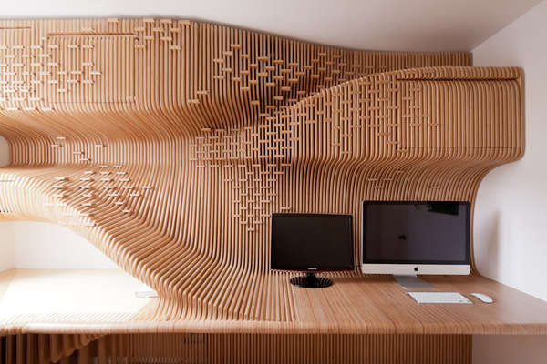 Sculptural Office Designs