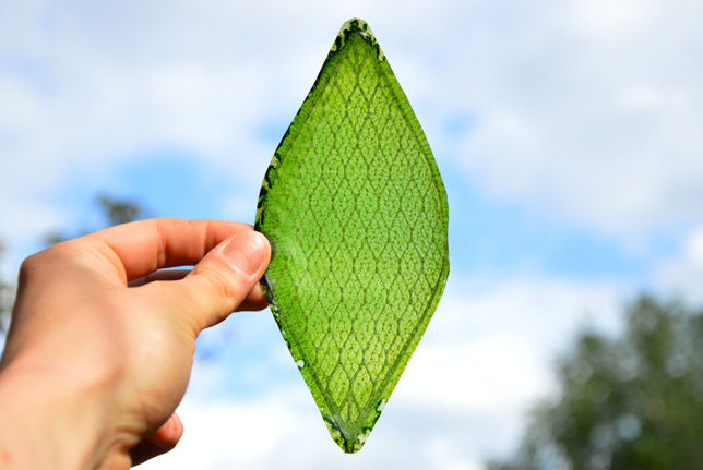 Synthetic Silk Leaves