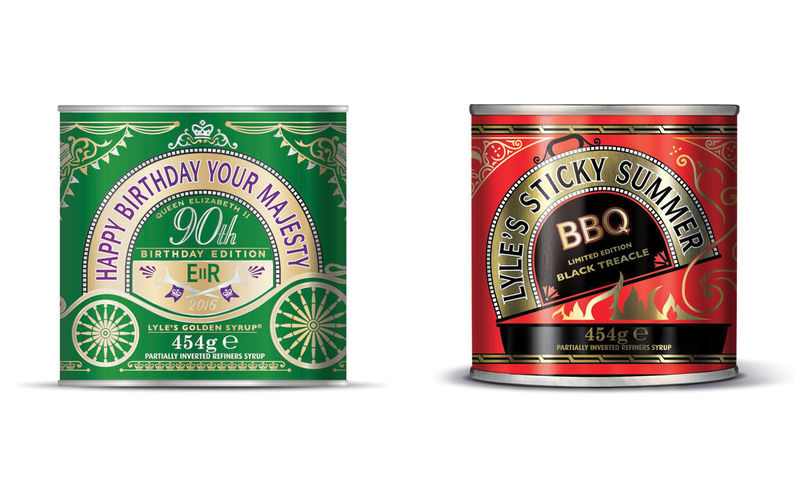 Royalty-Inspired Syrup Packaging