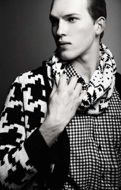 Haute Houndstooth Editorials