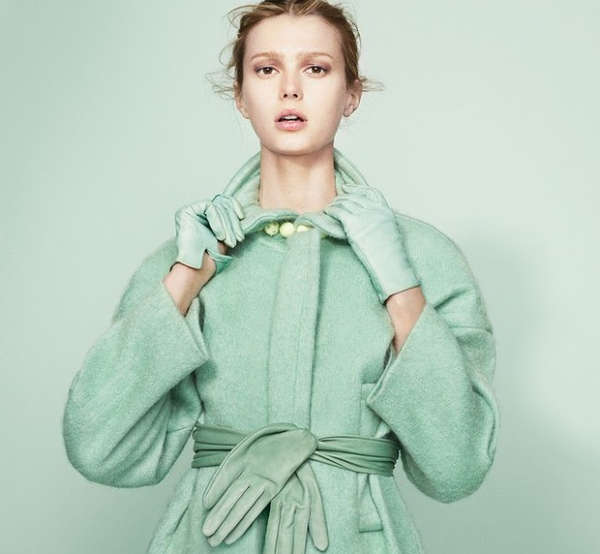 Achromatic Pastel Editorials