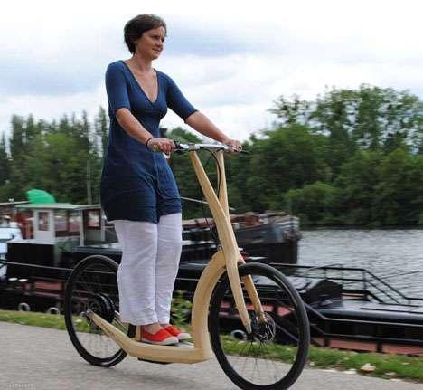Stand-Up E-Bikes