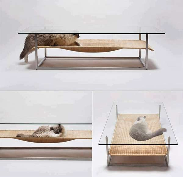 Clever Feline Hammock Tables