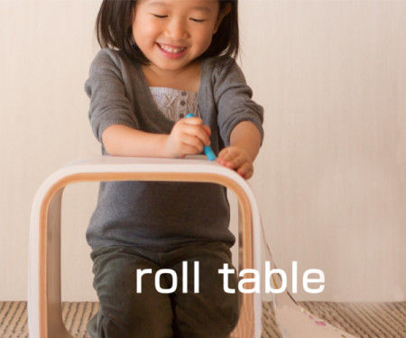 Rolled Paper Cube Tables