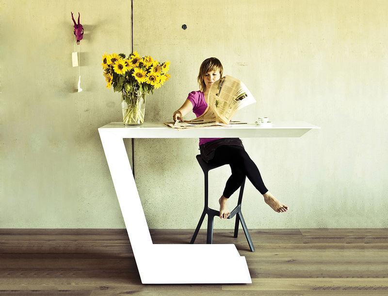 One-Legged Tables