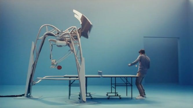 Table Tennis-Teaching Robots