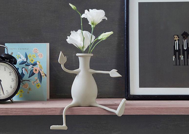 Anthropomorphic Flower Vases