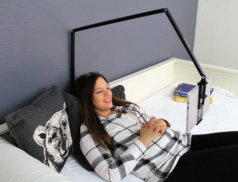 Lamp-Inspired Tablet Holders