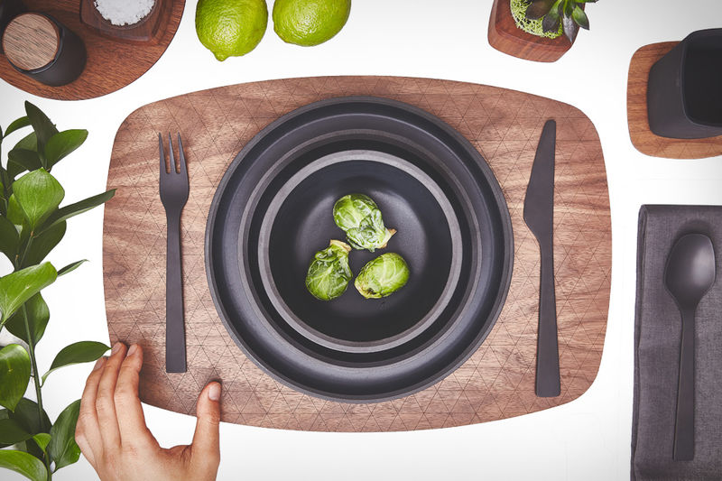Textured Matte Tableware