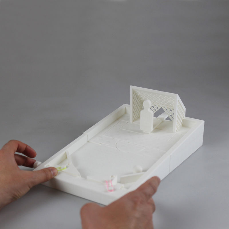 3D-Printed Pinball Games