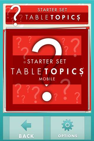 Tabletopics for iPhone iPod Touch