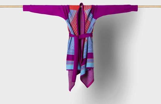 Geometric Wrap Sweaters