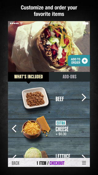 Taco Ordering Apps