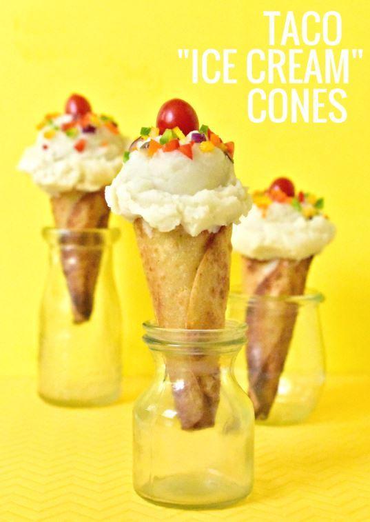 Taco Ice Creams
