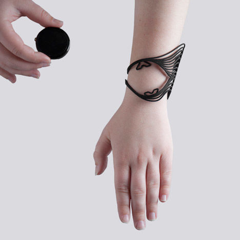 Projection Mapped Jewelry