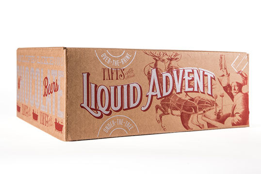 Advent Calendar Beer Branding