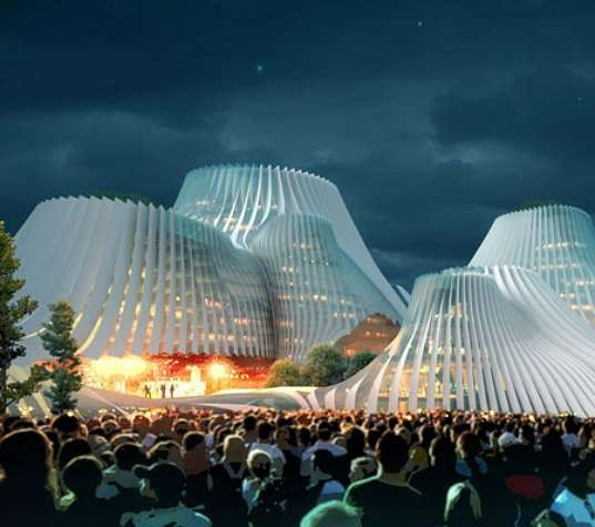 Shuttered Volcano Architecture