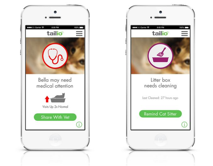 Health-Tracking Litter Boxes