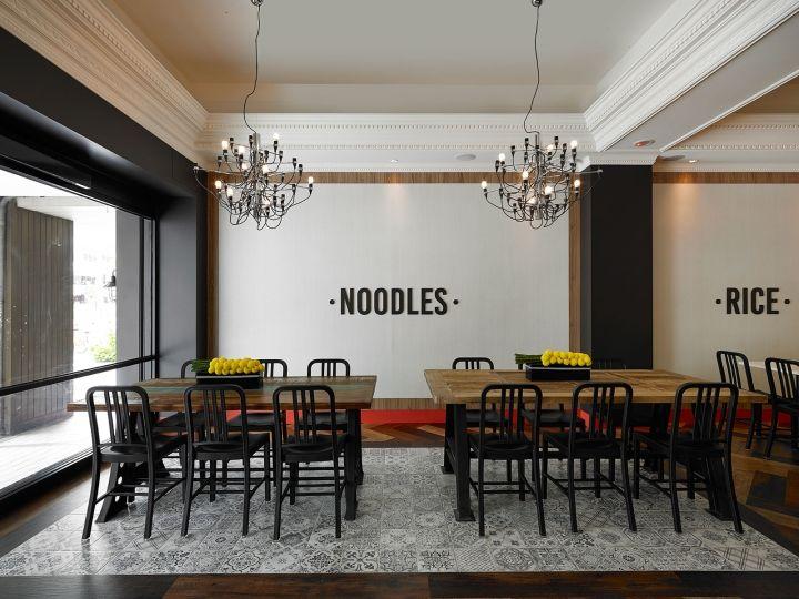 Cafe-Inspired Noodle Restaurants